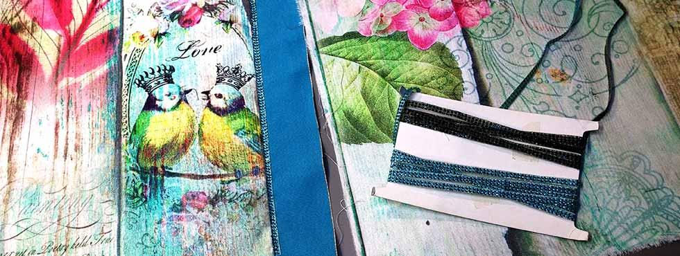Résultats des créations coutures en ateliers
